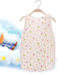 Six layer gauze sleeping bag baby child vest type  The car The trumpet 40 * 55 cm