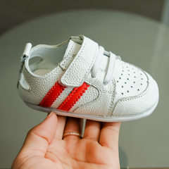 Spring and summer 2018 new baby shoes baby leather red 14