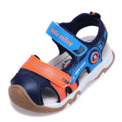 2018 rabbit miffy 6112 summer sandal men`s and wom Deep blue 23 to 28 yards