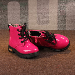 2018 spring and autumn hot style Martin boots Kore Ma Dingmei red In the 21 13.5 cm long