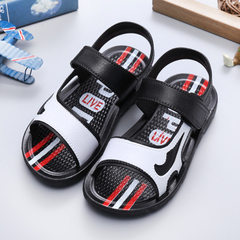 Children`s sandal 2018 summer new sandal for boys  white 20 yards - 14 cm