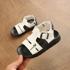 Summer baby sandals 1-2-3-4-5 - year - old sandbea white The length within 21 yards is 14.5cm