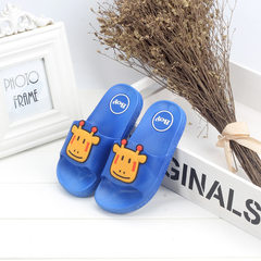 Summer children`s slippers bathroom boys and girls The mavs blue 24 (inner length 14.5cm)