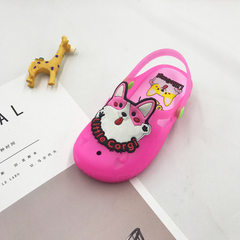 Manufacturers direct new 2018 summer girls` sandal Mei red 24