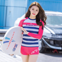 SABOLAY`s new sunblock swimsuit women`s split surf coat 4 xl (custom)