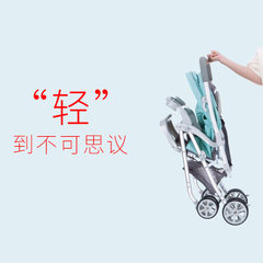 Light portable baby stroller two - way can sit can A817 series - model C
