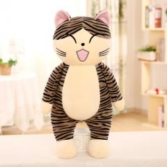 2017 super size biaoq cat plush toy puffer cotton  Stand up version of the cheese cat squint 45 cm weight 0.25 kg