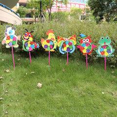Street stalls selling children`s toys luminous fis Glowing music fish windmill