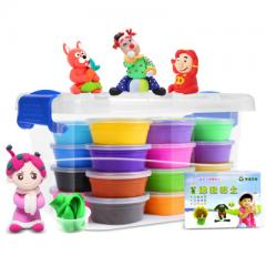 24 color super light clay children benefit from DI 24 color acceptance box (with accessories instruction)