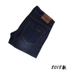 Men`s jeans, slim and straight, 100 pairs of men`s 8018 28 yards