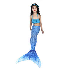 Hot selling girls bikini hot style mermaid swimsui YH17(three-piece set) All code