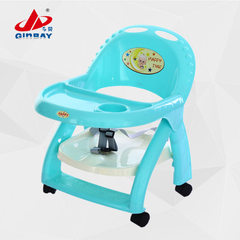 Portable foldable baby table, baby table, baby tab Blue (no wheels)