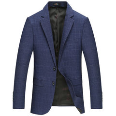 New spring and autumn men`s wear men`s casual suit blue 170 / M