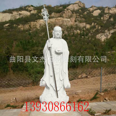 The supply of white marble statue of Buddha han wh 3.0 meters