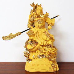 Yaxin process resin xiang long guan office of Budd Golden sand 34*26*66CM (25 inches)