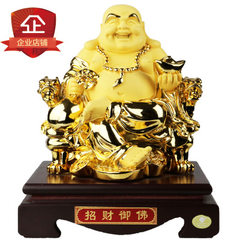 Resin Buddha decorative arts and crafts Buddha liv The Buddha is 9 inches, 19*17*23CM