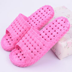Bathroom slipper foot bath hotel slip-proof bath l The dots are leaking rosy 36 and 37