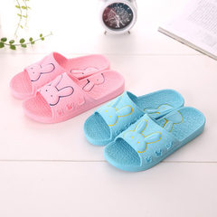 Cute cartoon rabbit children slippers bathroom ant Light pink 32/33 yards See options