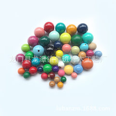 High quality colored wooden ball gift package roun color 8 mm to 50 mm