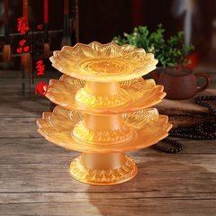 Worship god supplies imitated glass lotus fruit pl 7