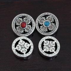 Tibetan silver falun safety clasp vajray-vajray-va A,