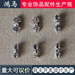 Buddhist accessories law vajrayang pestle 6 types  Tibetan silver A,