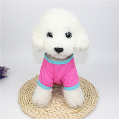 Dog clothes spring coat teddy bear than poodle pup s