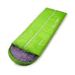 Sleeping bag adult outdoor ultralight outdoor camp green 1.65 kg