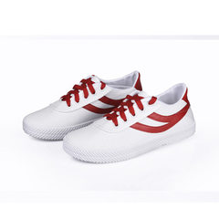 Women`s shoes canvas white shoes women`s classic l red 35