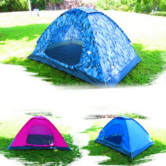 Factory direct sale 2~3 people fully automatic out Two-person automatic tent with single door (please note the color when ordering) double