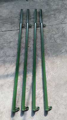 High quality tent ground pile pull rope pole piece green Tent pole