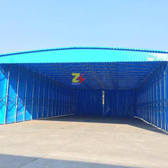 Outdoor large activity warehouse tent to push and  25 to 30
