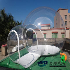 Outdoor transparent hotel tent romantic bubble roo transparent A single