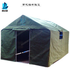 3-4 people construct tents customized for disaster Conjoined monolayer 2 m * 3 m