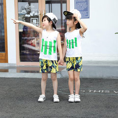Manufacturer`s suit for boys and girls summer 2018 Green stripe 90 cm
