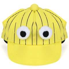 Wholesale cartoon popular logo sunscreen hat cat d Big eyes S (suitable for about 3-6 kg)