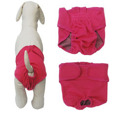 The pet big dog physiology pants magic stick water pink xs