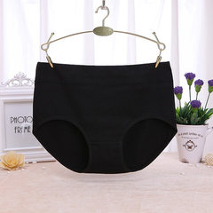 Girl`s underwear cotton lovely underwear middle wa black m