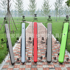 Manufacturer direct selling PVC fishing rod bag, f Green + bracket 125*13*13