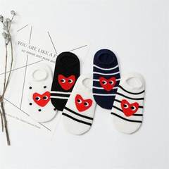 Spring new caring eyes cotton children socks Japan A combination of loving eyes S code about 3~5 years old
