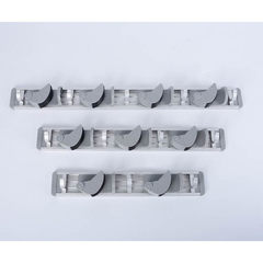 Wholesale bathroom cleaning tool collection rack c Two CARDS and three hooks in grey