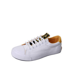 The new style of 2018 spring leisure canvas shoes  white 35