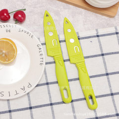 Kitchen fruit knife knife portable melon and fruit Stainless steel fruit knife