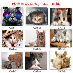 Mouse pad novel cute Cat Internet cafe advertising 180 x220 * 1.5 mm