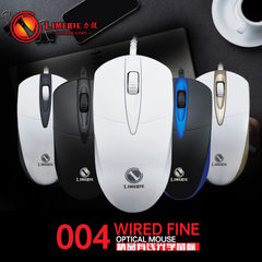 Wholesale wired mouse cable mouse office mouse LOL black