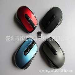 6.6元  特卖 2.4G无线鼠标 3100L礼品鼠标  光电鼠标 可订制LOGO 红色
