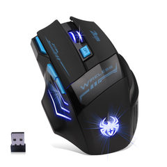 Hand grip spider wireless game mouse 2.4g wireless black