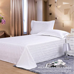 Pure cotton hotel room bedding wholesale bedsheet  40 pieces of ordinary fabric One meter bed can pack 180*270 mattresses