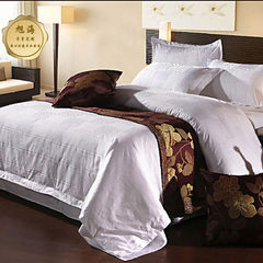 Star hotel bedding cloth grass guesthouse four - p white 180 * 200 beds