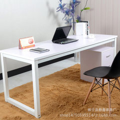 Hardwood computer desk notebook simple household d Whiteboard + white frame 80 long, 50 wide, and 74cm high